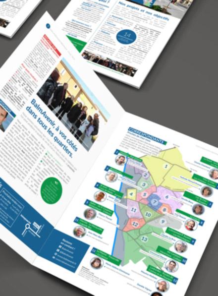 Brochure trimestrielle – Vie politique