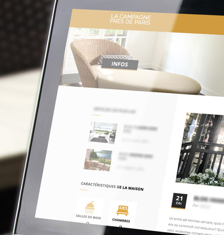 Site web – Immobilier luxe