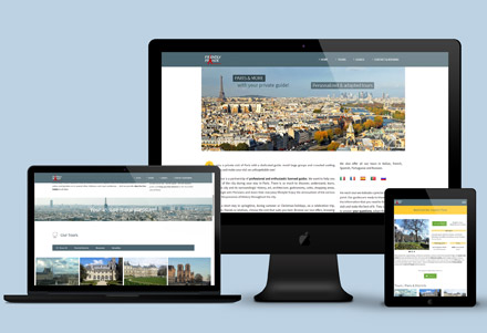 Site web – Tourisme